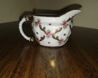 Vintage Miniature Creamer - Poreclain/China