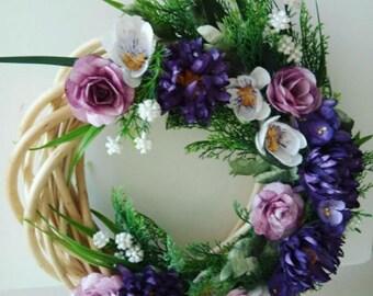 Silk Cocoon Homemade Door Wreath