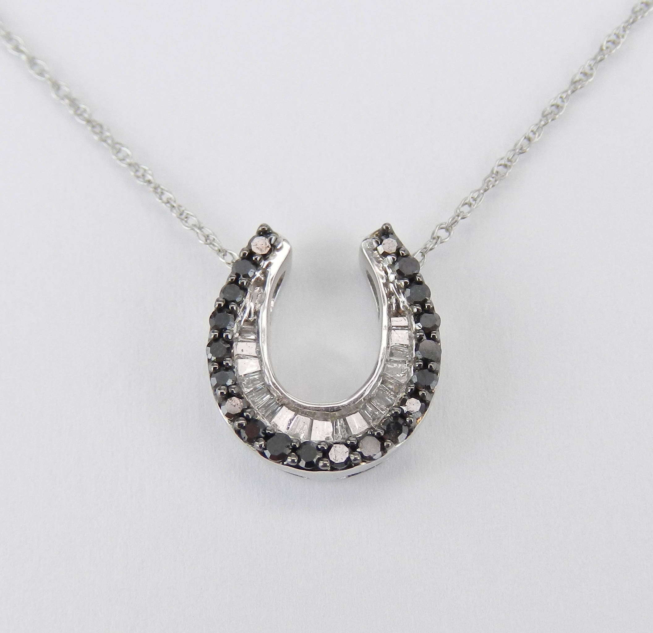 lucky img horseshoe contagious silver designs pendant products necklace crystal