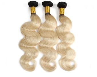 Brighten Star Collection, Peruvian Body Wave Pre-Colored   Hair, 3 bundles/lot  Weight:100g(+/-5g)/piece