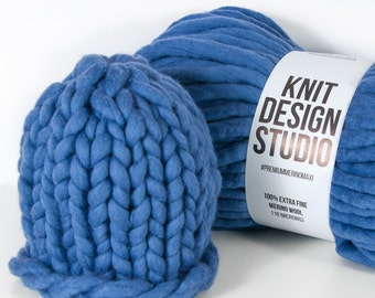 Blue Jeans Knit Hat SALE, Winter Hat, Beanie, Beanie Hat, Women Hat, Knit Beanie, Wool Hat, Winter Beanies, Womens Knit Hat, Chunky Knit Hat