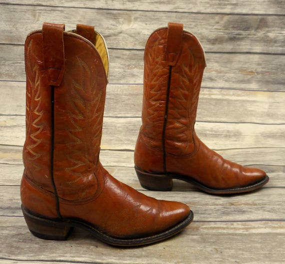 Tan Vintage Size 6 Boots Western Wrangler Country Cowgirl Womens Brown Cowboy 0wXUqZ