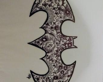 Batman Logo (Tattoo Art)