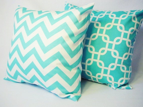 Teal Pillow Covers Decorative Throw Pillow Covers In Teal