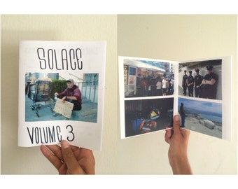Solace Zine Volume 3. 40+ full color photography zine. ZinesForTheHomeless.