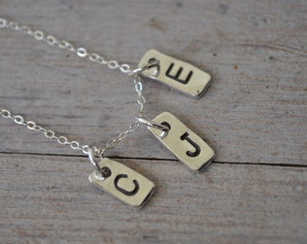 Mother's Day...2 Initials Necklace