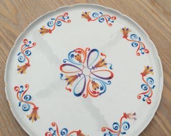 Very nice France porcelain dish