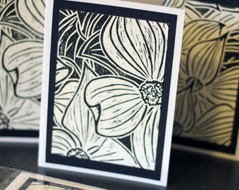 Dogwood Flower Card