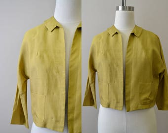 1960s Susan Thomas Silk Jacket
