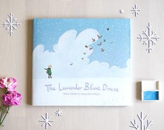 The Lavender Blue Dress Book - Children's Picture Book by Emmeline Pidgen & Aidan Moffat (Signed by artist)