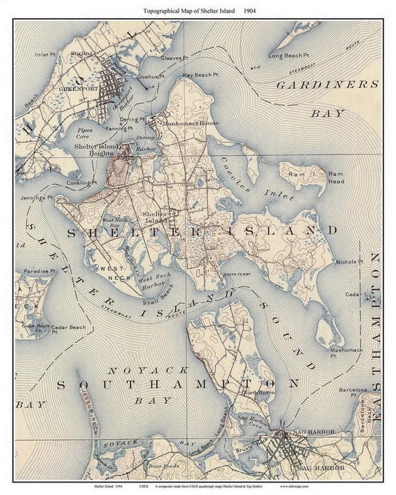 Long Island Ship Map Routes Pictures 36