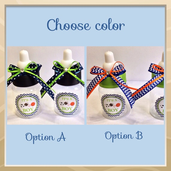 12 Sports Baby Shower Favors Chevron Baby Shower Sports Baby