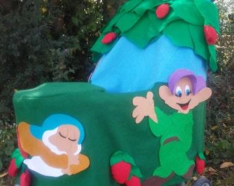 Snow White theme Stroller Costume for Halloween