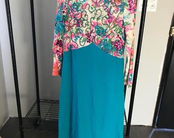 Vintage Mod Dress size 14