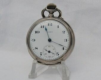 Antique Pocket Watch . Jaar 1920.  Full working condition.