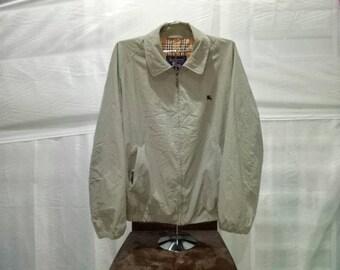 Vintage rare Burberrys Zipper Jacket 2 pocket