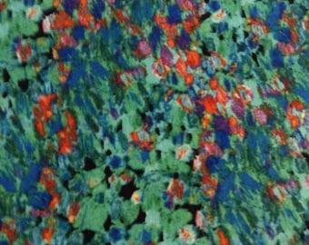 SALE - One Half Yard of Fabric Material - Watecolors