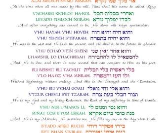 Translation of The Shema Prayer - induced info