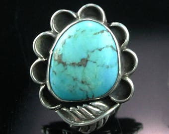 Navajo Traditional Blossom Ring