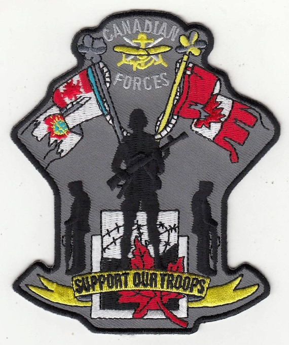 Canadian Forces Military Canada Support Our Troops Patch