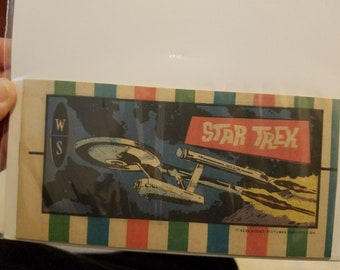 Star Trek  Mini Comic book # 6