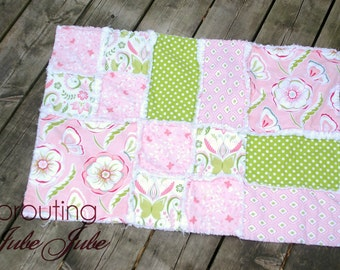 Ashlyn Rag Quilt Patterns - Simple Quilt Pattern- Girl Quilt Pattern- Sewing Patterns- Modern Quilt Pattern- Boy Quilt Pattern- Baby Pattern