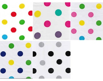 Big Dots Oilcloth By The Yard