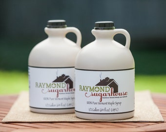100 Percent Pure Vermont Maple Syrup 1 Gallon made in 2018 Help the Alzheimer's Association