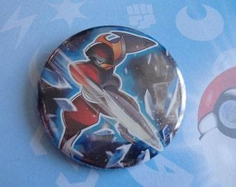 """BISHARP - Pokemon 2.25"""" Pinback Button"""