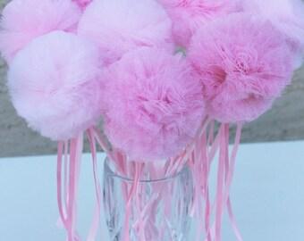 Princess Wand,Fairy Wand,pom pim wands,Party favors