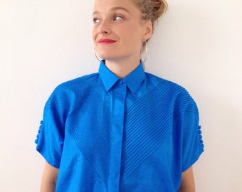 Vintage blouse,top hipster chic style ;) from the 80s