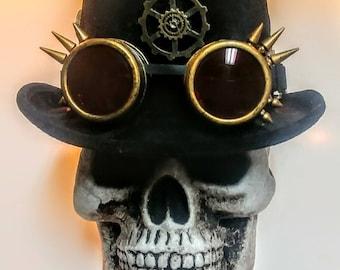 Steampunk Coachman's Top Hat