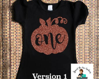 one pumpkin shirt - rose gold one - rose gold first birthday - one pumpkin - 1st birthday girl - first birthday girl - rose gold birthday