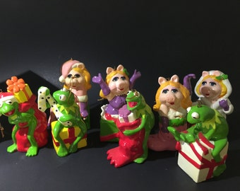 Vintage 8 The Muppets Christmas Ornament