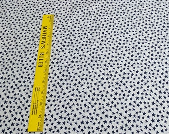 Made in the USA-Blue Stars Cotton Fabric from Classic Cottons