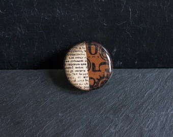 Brown Curiosity Ring