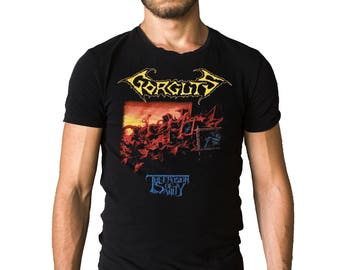 Gorguts The Erosion Of Sanity 1993 Album Cover T-Shirt