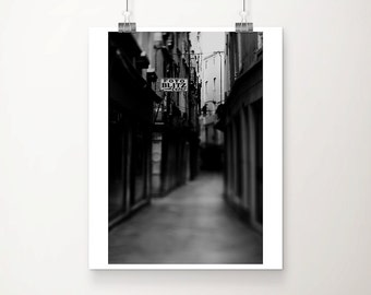 black and white photography Venice photograph Camera shop photograph Venice print street photography Venice art camera shop print
