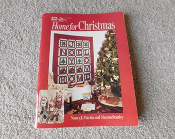 Home for Christmas Nancy J. Martin Sharon Stanley That Patchwork Place 1991