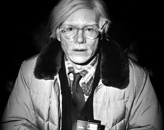Frameable Poster, Andy Warhol, Andrew Warhol, By Libby Leverett Crew, Photo  Download