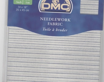 DMC Waste Canvas - 14ct  (35 x 45cm) For Cross Stitch on any kind of fabric(Household linen, Clothes)