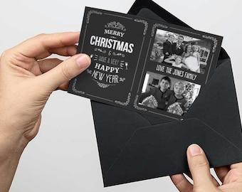 family christmas card, photo christmas card, photo xmas card, photo christmas cards, photo xmas cards, personalised christmas printable,