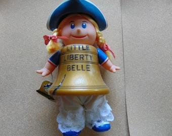 1975 John Stampone R. Dakin & Co. Little Liberty Belle bicentennial toy doll