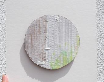 Corrugated Circle Painting I