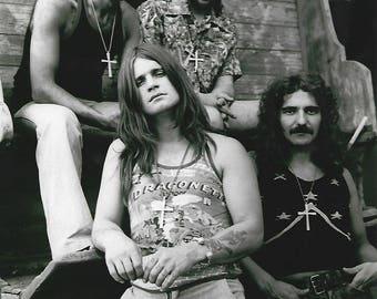 Ozzy Osbourne Black Sabbath British music legends 8x10 photo poster print man cave decor