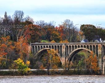 Railroad Bridge Over the James, Richmond, VA