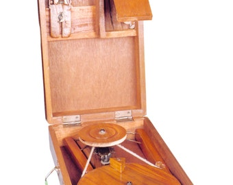 Bigger Box Charkha (Traditional) crafted in India.