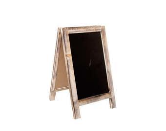 Vintage A-Frame Chalkboard 22 x 38cm high