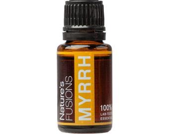 Myrrh Essential Oil 15 ml - Commiphora Myrrha - 100% Pure