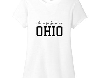 Tiffin Ohio Women's Fitted T-Shirt